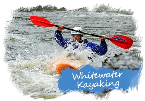 Whitewater Kayaking Llangollen