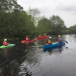 Paddle sports leader with Ty Nant Outdoors