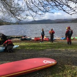British Canoeing Coach Award Training with Ty Nant Outdoors