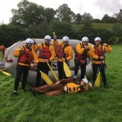 Ty Nant Outdoors Bala Rafting Lower river